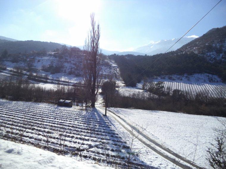 Photos tour de vélo col de Valouse sous 60 centimètres de neige (1)