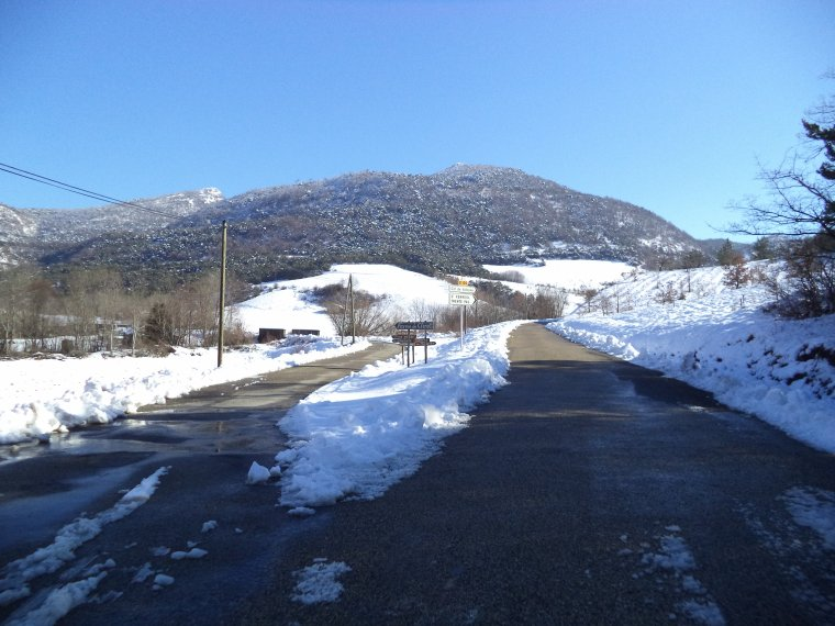 Photos tour de vélo col de Valouse sous 60 centimètres de neige (3)
