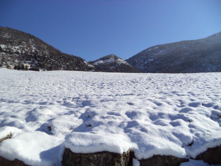 Photos tour de vélo col de Valouse sous 60 centimètres de neige (5)