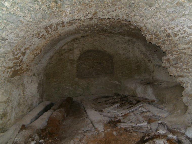 Les ruines de la Viale