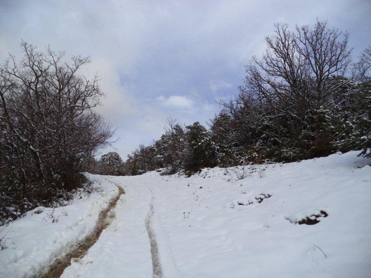 Photos randonnée à la ferme de la Lance avec 60cm de neige !