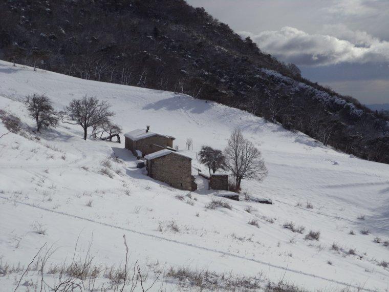 Photos randonnée à la ferme de la Lance avec 60cm de neige !  (3)