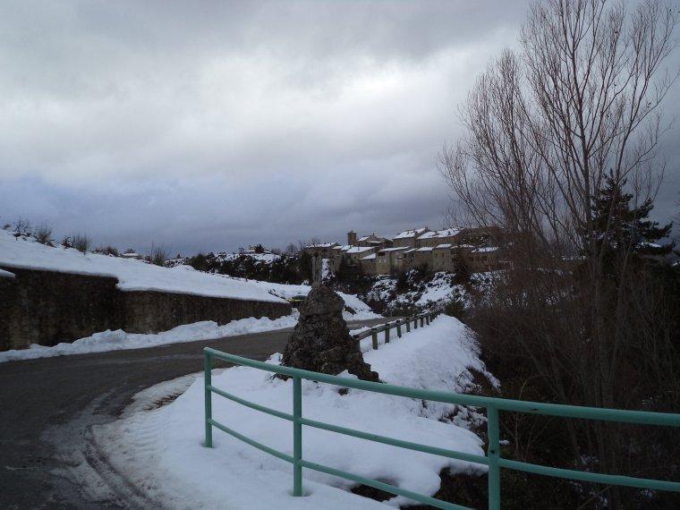 Photos tour de vélo au col de Soubeyrand avec 70cm de neige !   (4)