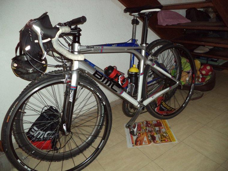 Aujourd'hui pluie alors nettoyage du vélo