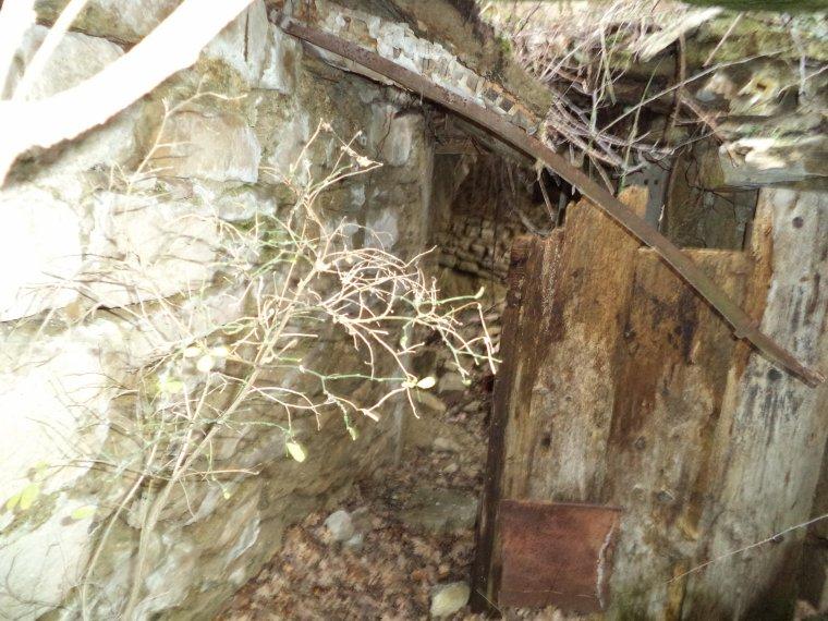 Photos des ruines de la Viale