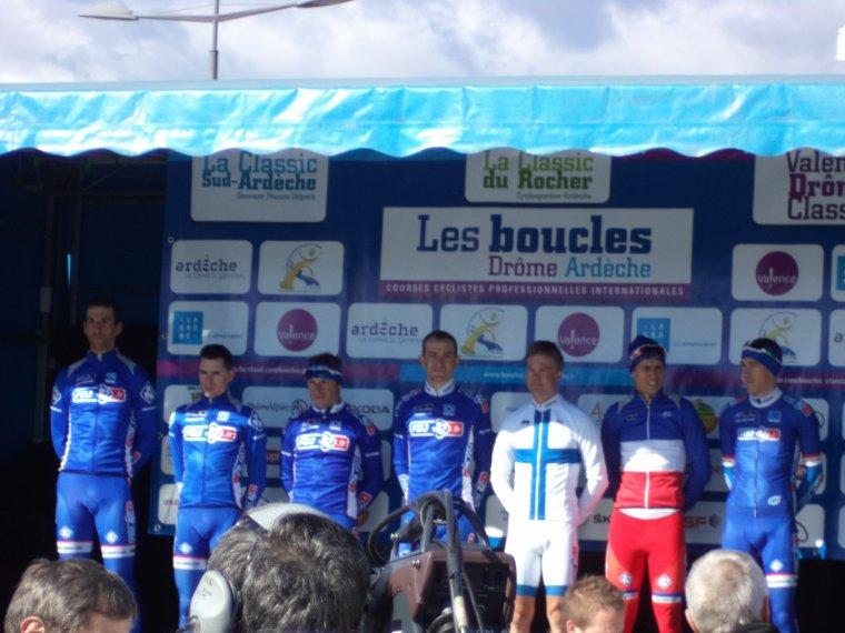 Journée en Ardèche avec Gil et Bruno pour voir la Classic Sud-Ardèche