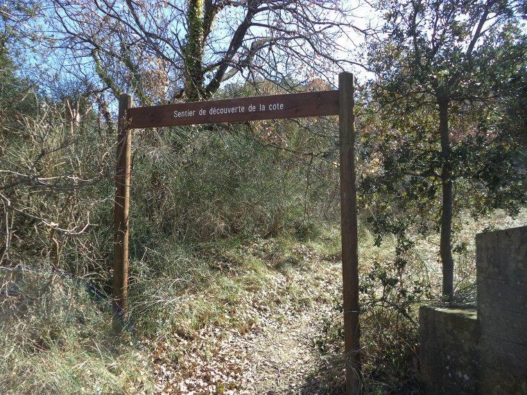 Randonnée au sentier de découverte de la Cote de Valréas