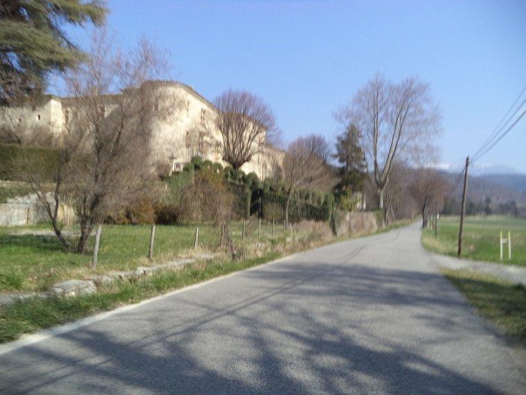 Grand tour de vélo en Drome Provençale