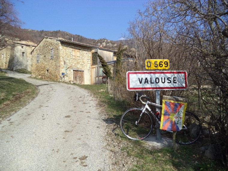 Grand tour de vélo en Drome Provençale, photos