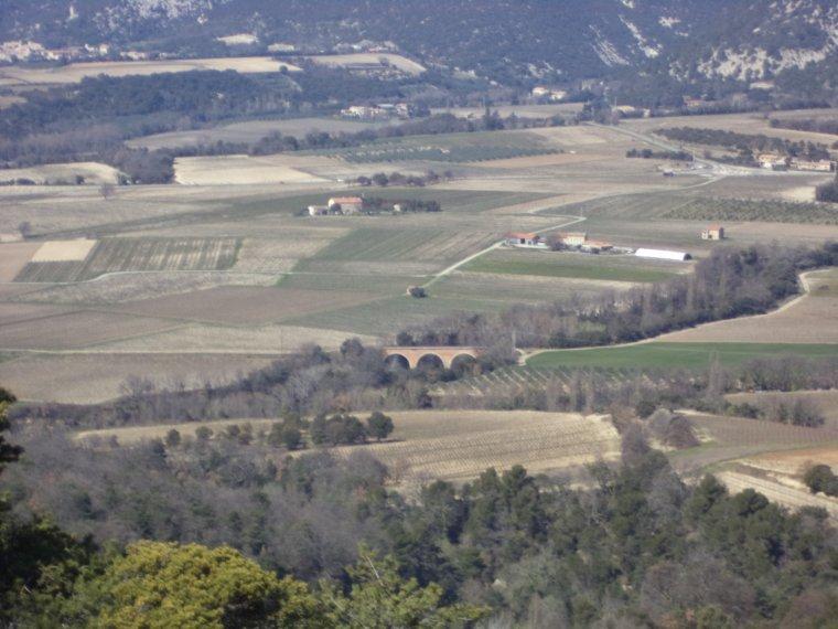 Randonnée VTT bornes Papales + Mourre de Broche (552m), photos