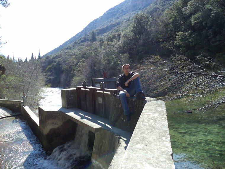 Randonnée au barrage de Nurier (Drome), photos