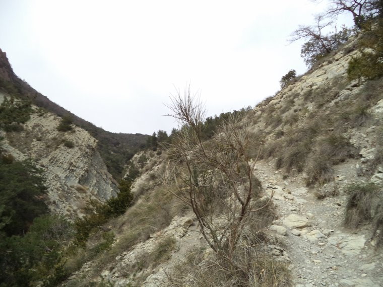 Petite randonnée au Trou des Belles (Venterol)