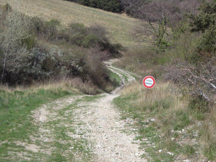 Ascension du col des Montoisons (601m) à VTT