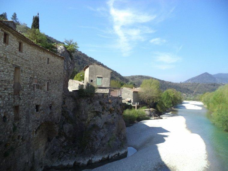 A la découverte du vieux village d'Aubres, en vélo, photos (2)