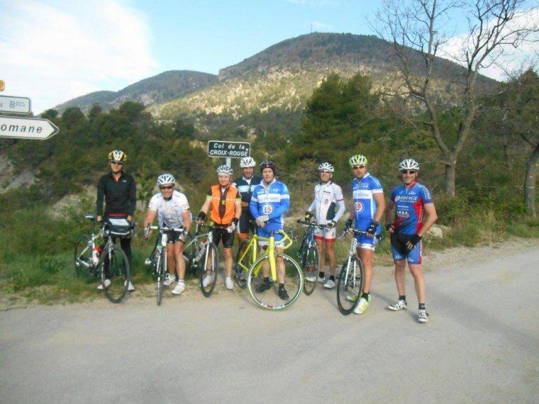 Sortie vélo avec le Beau Cyclo Bollénois, photos (1)