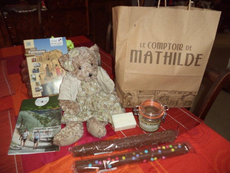Visite du Comptoir de Mathilde à Tulette