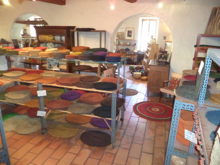Visite de l'atelier de Scourtinerie à Nyons