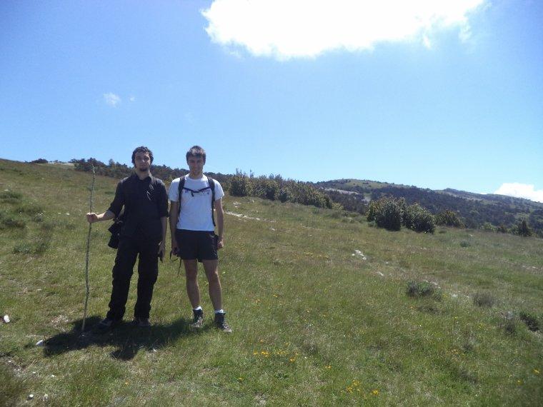 Ascension montagne de la Lance (1340m) avec Aurélien et David (3)