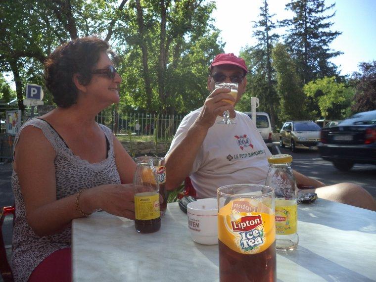 Hier c'était vélo + randonnée avec Freddy et Odile, 7h non-stop !!!!   photos (4)