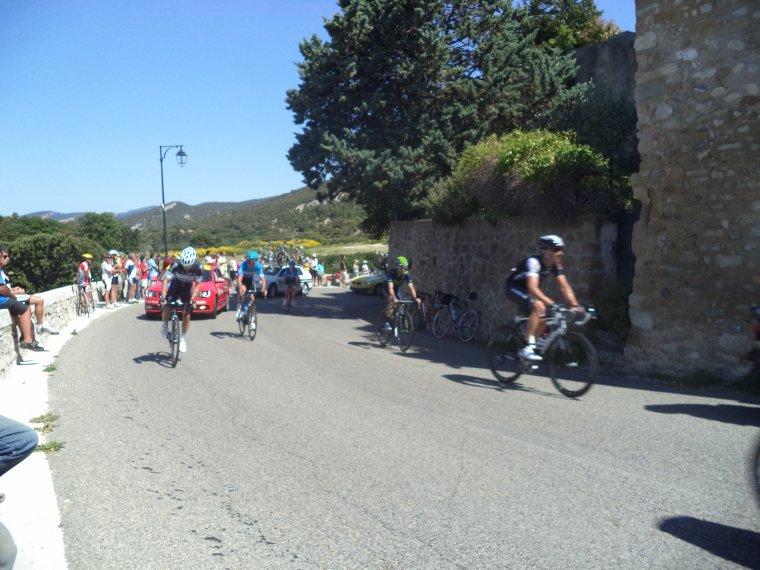 Photos au critérium de Dauphiné à Rousset-les-Vignes