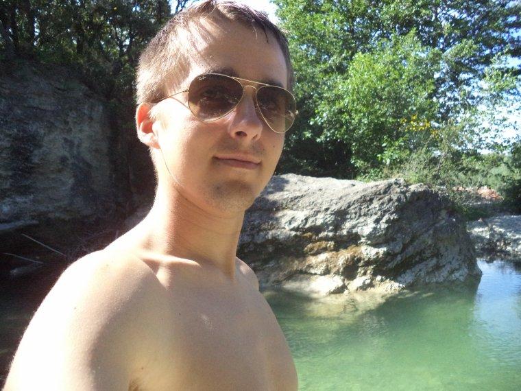 Journée avec mon pote Daxter84 à la rivière, à Montbrison-sur-Lez