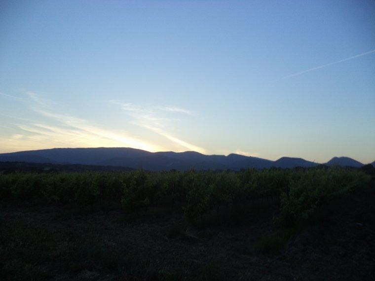 2e journée de travail au domaine de serre des vignes + vélo + randonnée !!!