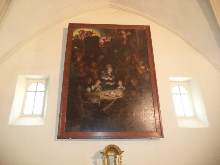 Reportage photographique de Valréas (6) : la chapelle des Pénitents blancs (2)