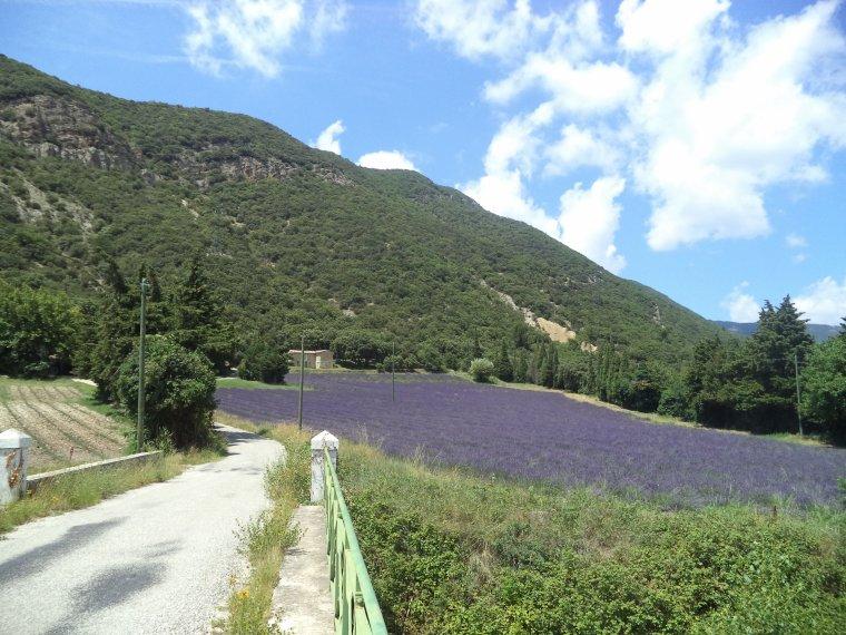 Randonnée Pontaujard-barrage de Nurier, Lez en crue !    (photos 2)