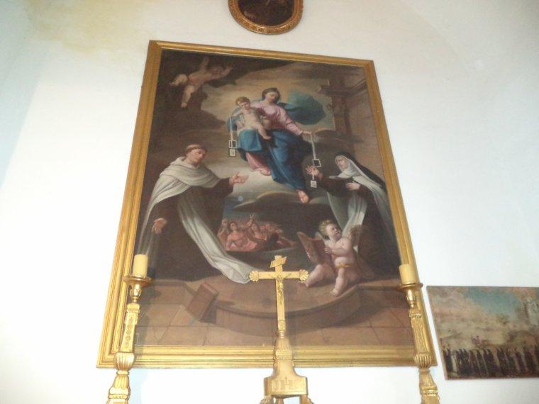 Reportage photographique de Valréas (9) : la chapelle des Pénitents noirs