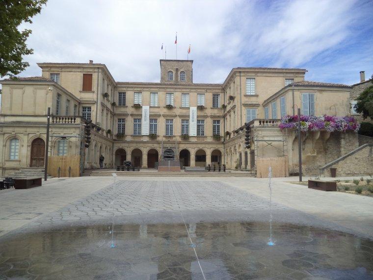 Reportage photographique de Valréas (17) : le château de Simiane