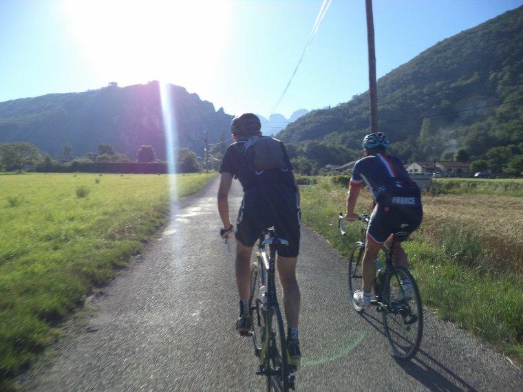Traversée du Vercors à vélo avec Gil et Gégé le breton !  quel régal