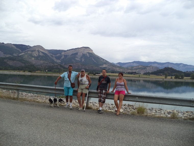 Pique-nique au Lac Lazer dans les Hautes-Alpes
