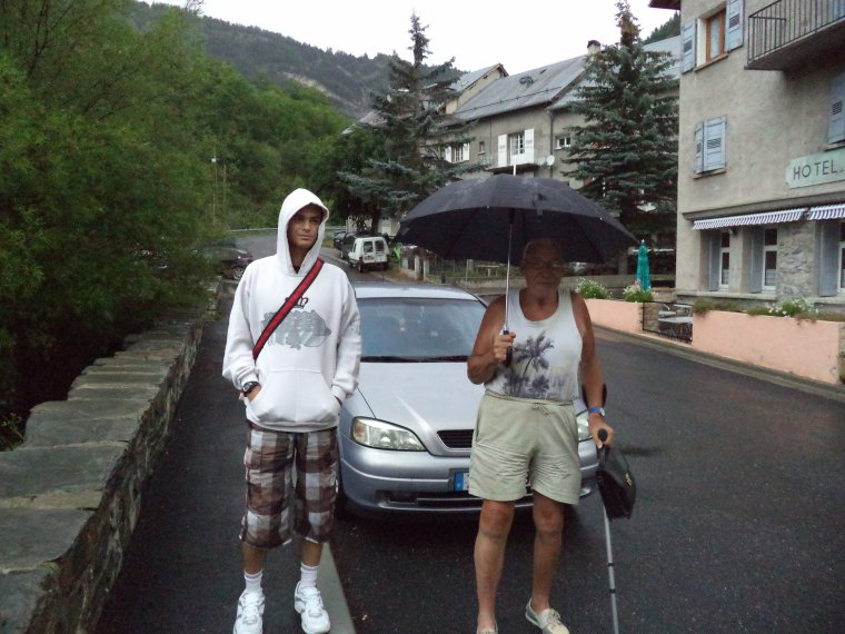 Visite du village de la Condamine (04)