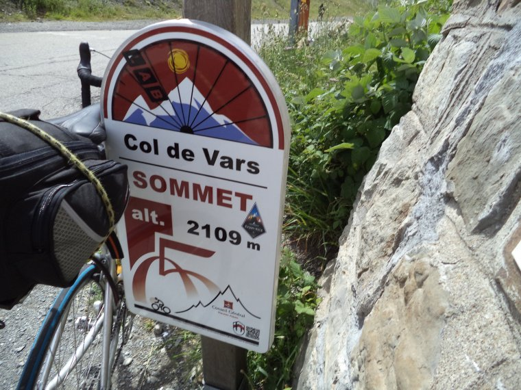 Ascension de mon premier col à plus de 2000 mètres !  je nomme le col de Vars....(photos 3)