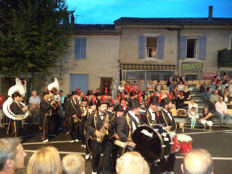 48e Corso de la Lavande à Valréas entaché à cause des orages....