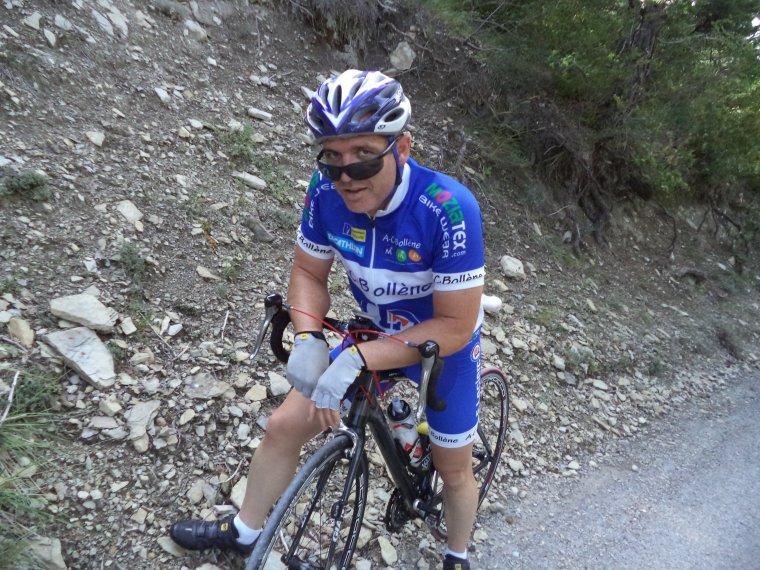 Sortie en Drome Provençale avec le BCB, 91km
