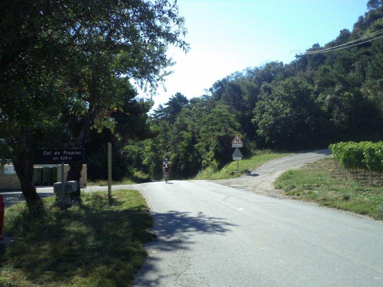Sortie avec le BCB, 107 kilomètres et le col de Propiac