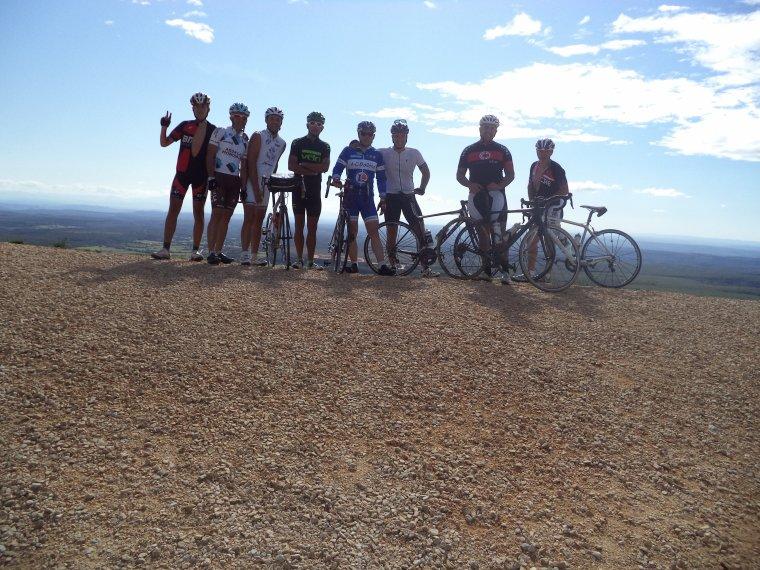Tour de vélo dans le Gard avec le BCB, ascension du Mont Bouquet, 108 kilomètres !!!  (photos (2)