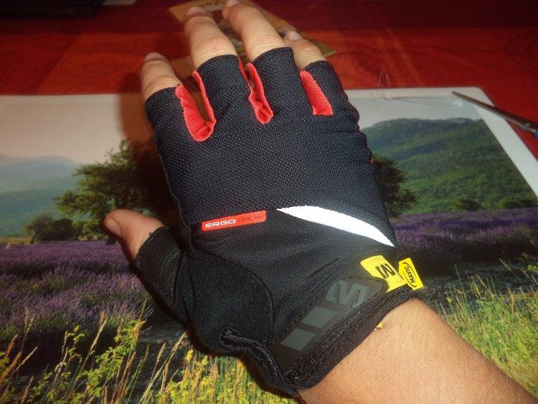 Nouvelles paire de gant court Mavic HC