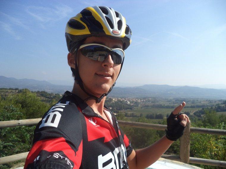 Tour de vélo autour de Vinsobres