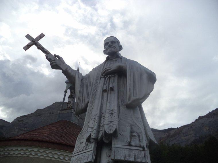 Visite à la chapelle de Notre-Dame de Bois Vert (photos 2)