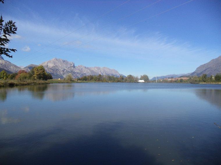Grande randonnée au lac de de l'Aulagnier