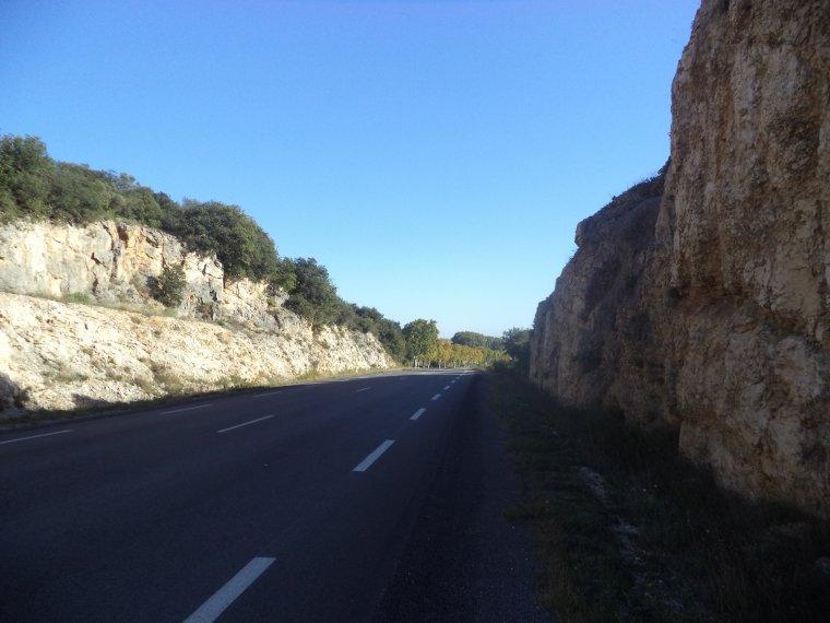 """Ascension de la """"Tranchée de la Madeleine"""" (193 mètres) dans le Gard"""