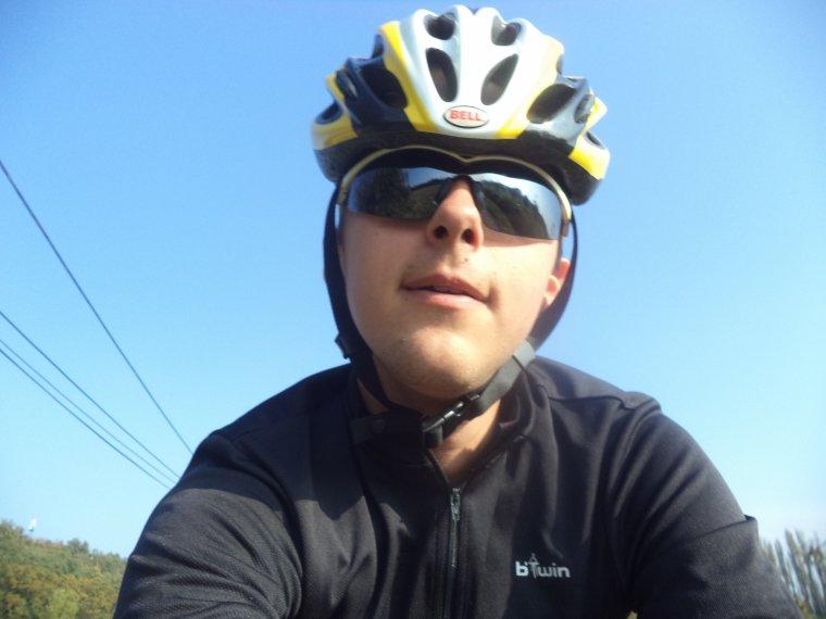 Sortie à vélo en campagne