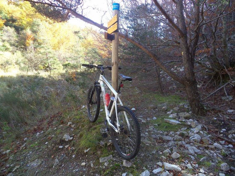 Grande randonnée à VTT en Drome Provençale, +2 cols (photos 2)