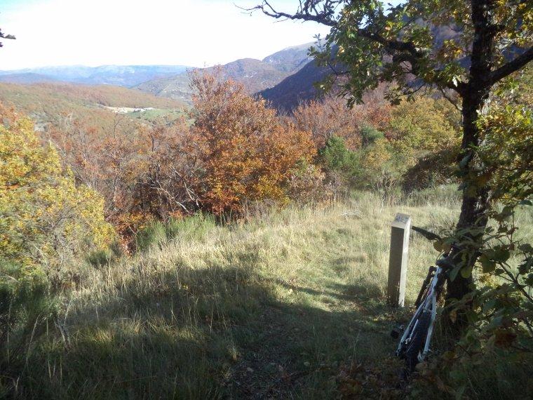 Grande randonnée à VTT en Drome Provençale, +2 cols (photos 3)