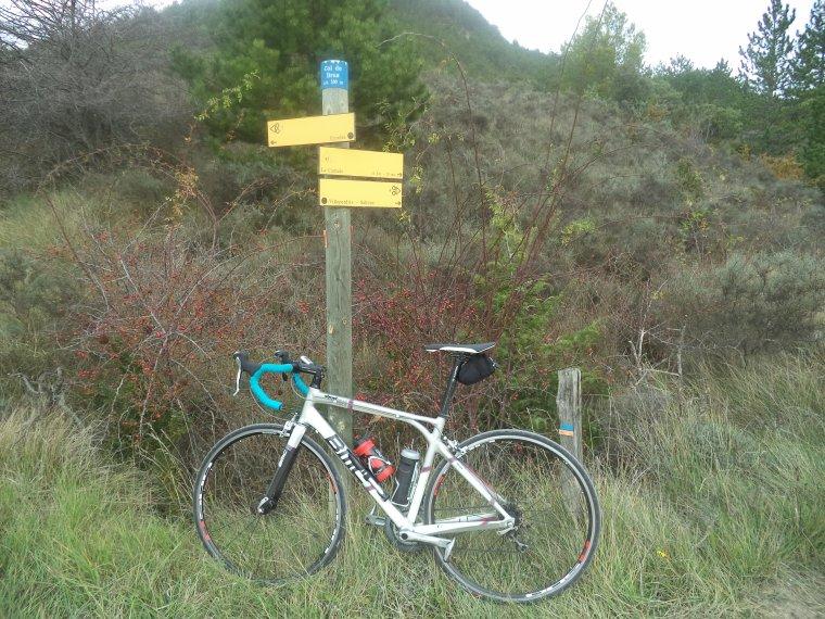 Sortie à vélo vallée de l'Eygues, découverte d'Eyroles, +1 cols
