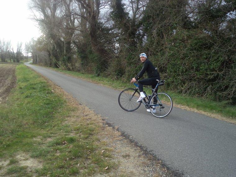 Sortie en campagne avec Gil, 62km