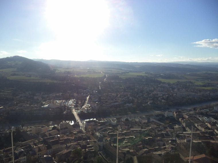 Visite de la Tour de Crest (Drome), photos 2