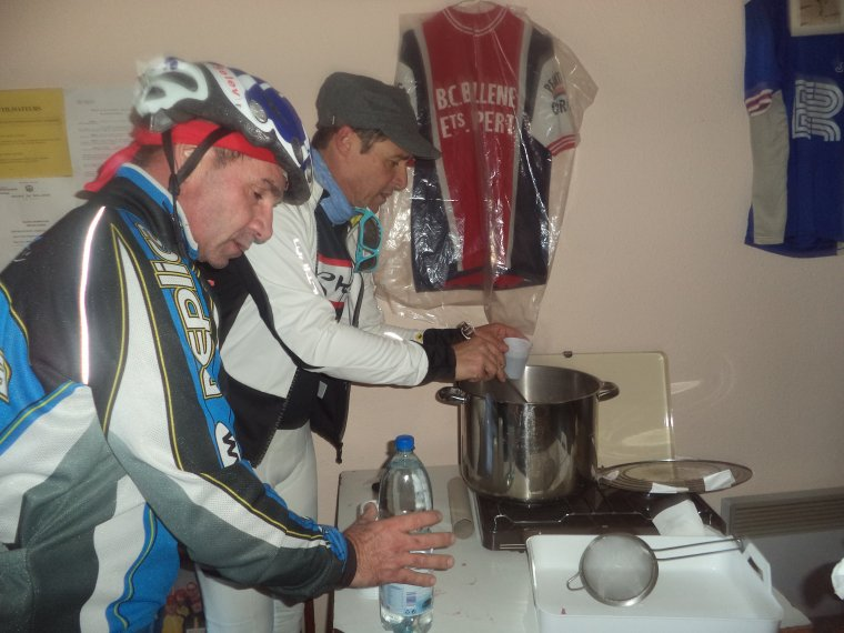 Apéritif de fin d'année au Beau Cyclo Bollénois